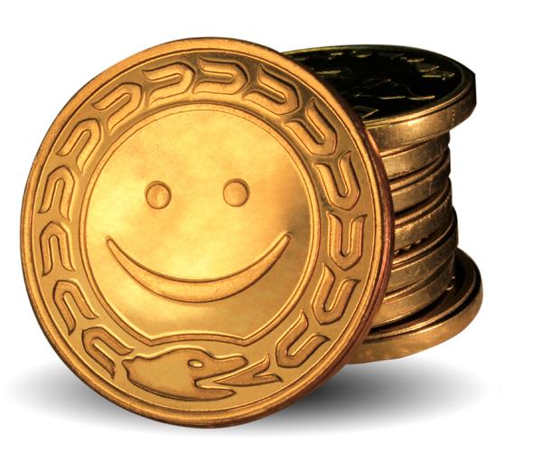 пример монетки диаметром 32,6мм