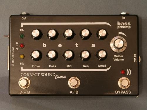 BETA Bass preamp