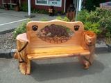 Bench Carvings