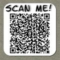 QR Message Sticker
