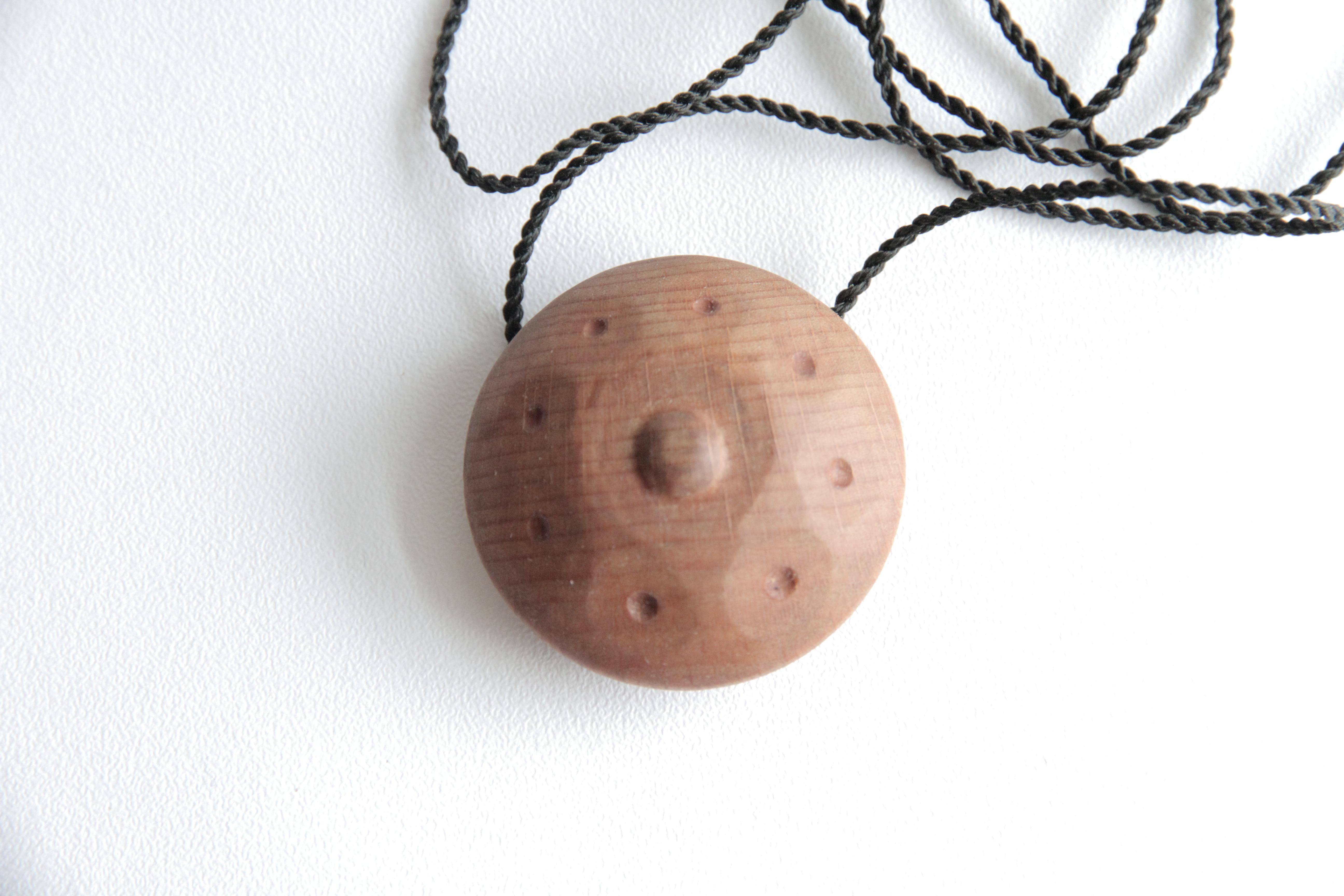 Кулон ханг деревянный ручной работы