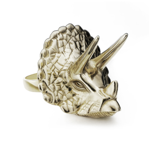 Triceratops Ring