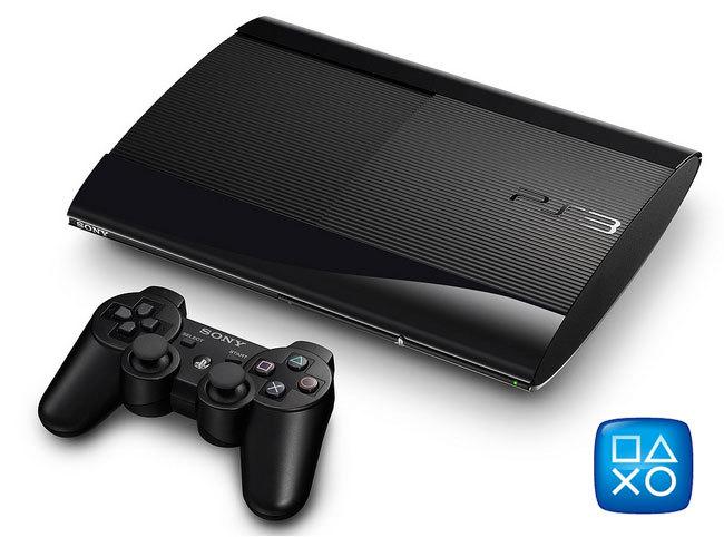 Sony PlayStation 3 Slim 500Gb + 2 игры на русском (Gran Tourismo 5,Unc