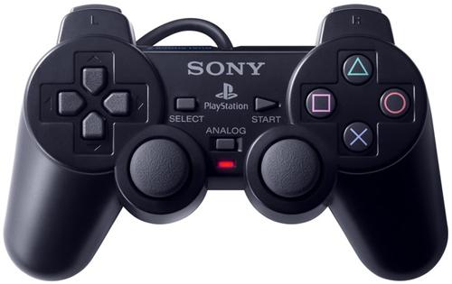 Джойстики PS2 Dual Shock2 с надписью Sony