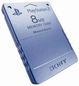 Карта памяти PS2 8Meg оригинальная