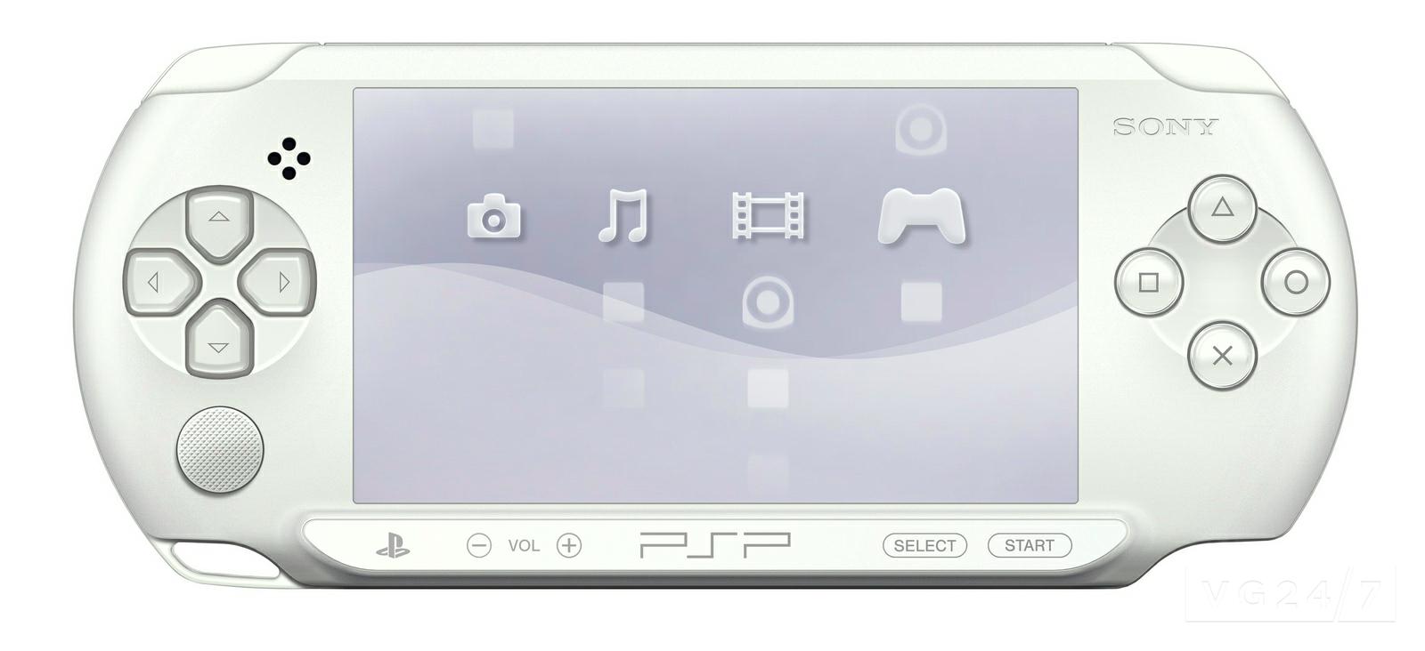 Приставки Sony PSP E1003 белый цвет