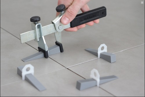 KIT NIVELADOR DE PISO 01 / 50 - junta 1mm para 50m2