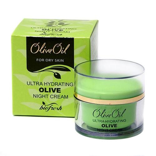 Крем для лица ночной ультра увлажнение Олива 50 ml