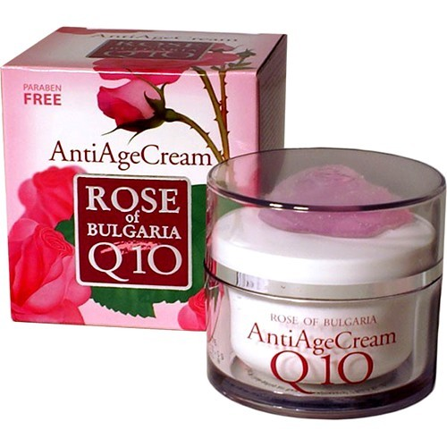 Восстанавливающий крем- коэнзим Q10 Роза Болгарии 50 ml