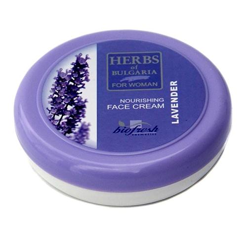 Крем для лица для нормальной и жирной кожи Лаванда 100 ml