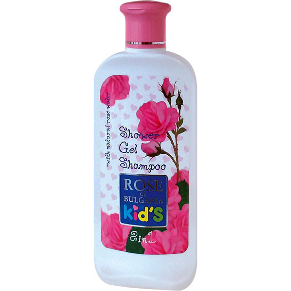 Шампунь и гель для душа 2 в 1 Роза Болгарии 200 ml