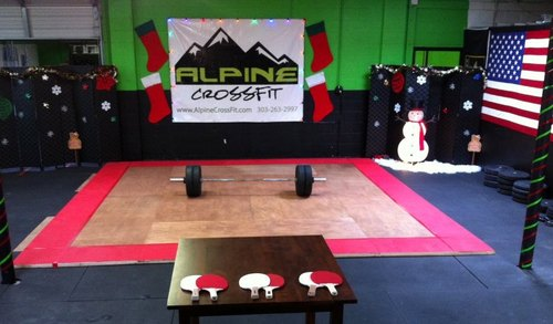 2013 Alpine CrossFit Holiday Weightlifting Meet
